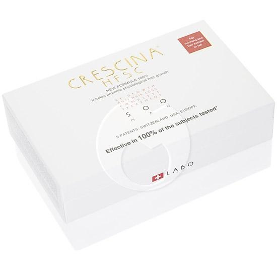 Купить Crescina Комплекс 500 для мужчин Лосьон для стимуляции роста волос №20 + Лосьон против выпадения волос №20 3, 5 мл