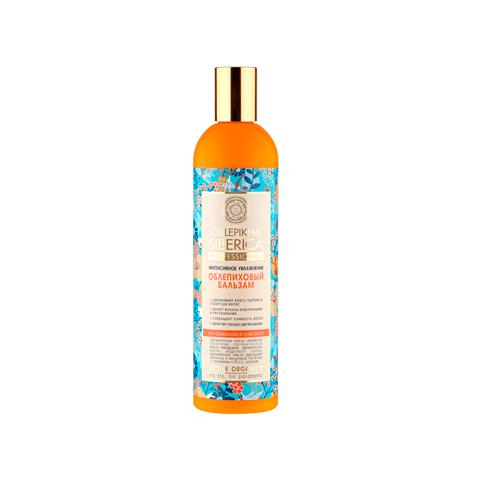 Натура сиберика бальзам облепиховый для нормальных и сухих волос интенсивное увлажнение 400 мл