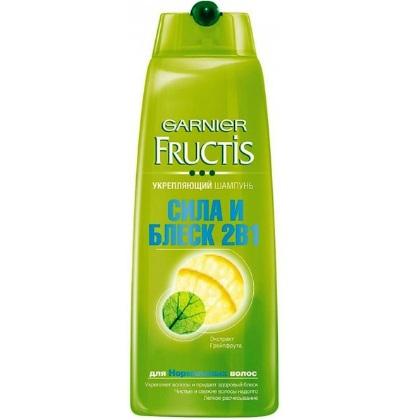 Garnier (Гарньер) ФРУКТИС Шампунь 2в1 СИЛА И БЛЕСК для нормальных волос, 250мл от Лаборатория Здоровья и Красоты
