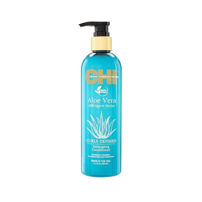 Купить CHI Aloe Vera with Agave Nectar Кондиционер для облегчения расчесывания 340мл
