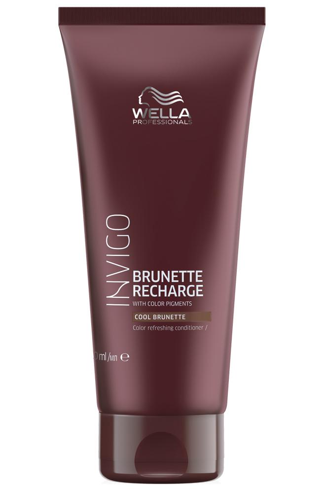 Купить Wella Invigo Color Recharge Оттеночный бальзам-уход для холодных коричневых оттенков 200мл