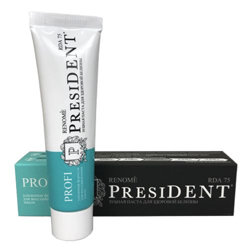 Купить President Profi Зубная паста Renome 100мл