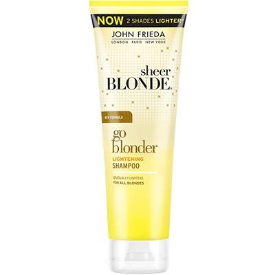 Купить со скидкой John Frieda Sheer Blonde Go Blonder Шампунь осветляющий для натуральных, мелированных и окрашенных в