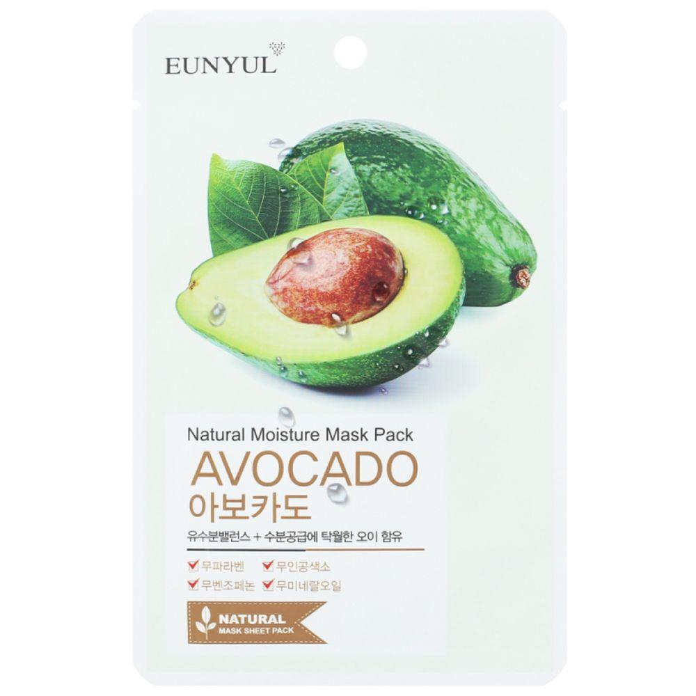 Купить EUNYUL Тканевая маска для лица с экстрактом авокадо 22мл