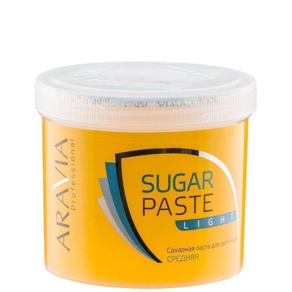 Купить Aravia Professional Паста сахарная для депиляции Мягкая и Легкая мягкой консистенции 750г