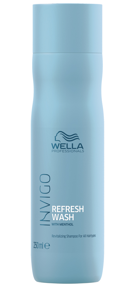 Wella invigo balance refresh wash оживляющий шампунь для