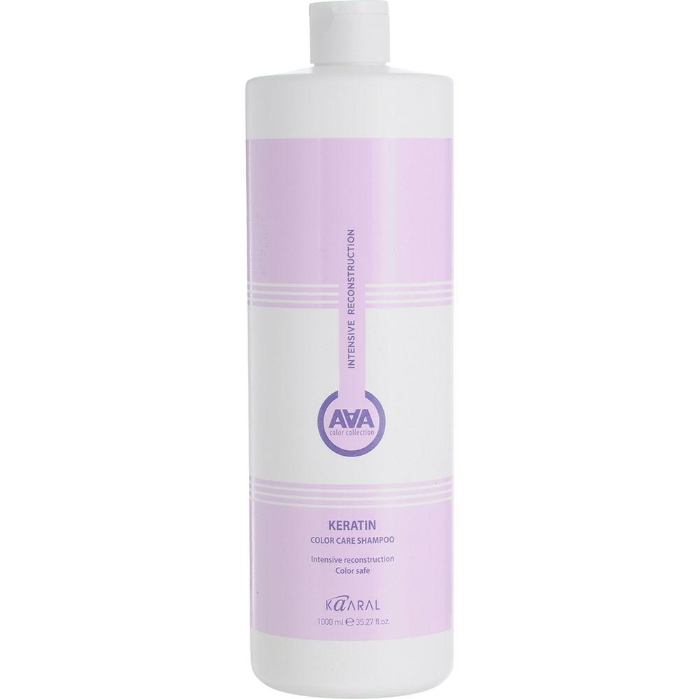 Купить Kaaral AAA Кератиновый шампунь для окрашенных и химически обработанных волос 1000мл