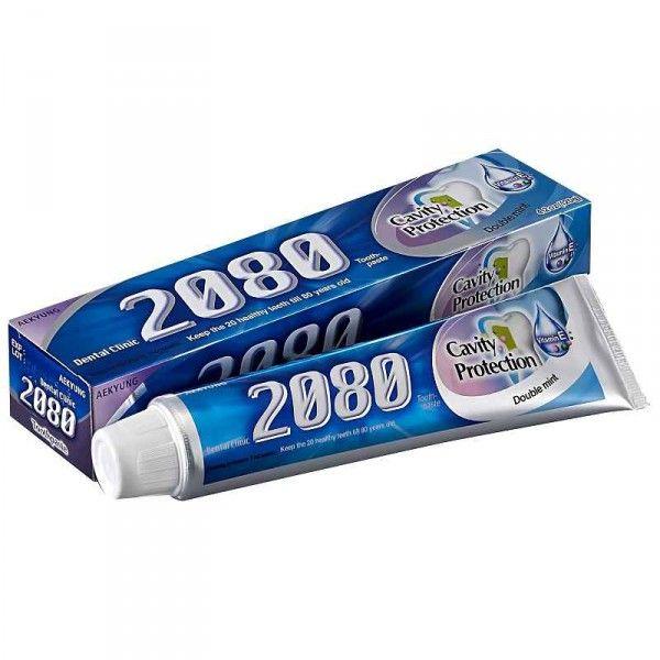 Купить KeraSys Зубная паста 2080 Натуральная мята с фтором и витамином Е 120 g