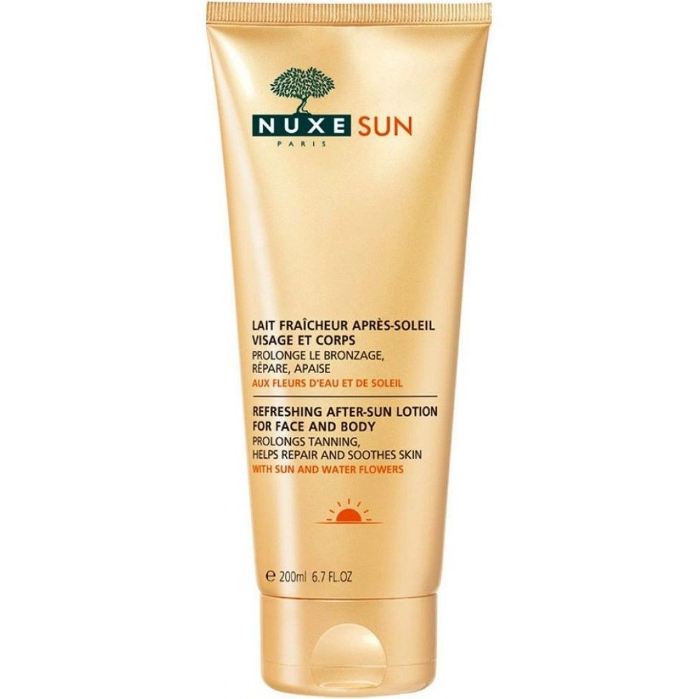 Nuxe Sun Освежающий лосьон после солнца для лица и тела 200 мл  - Купить