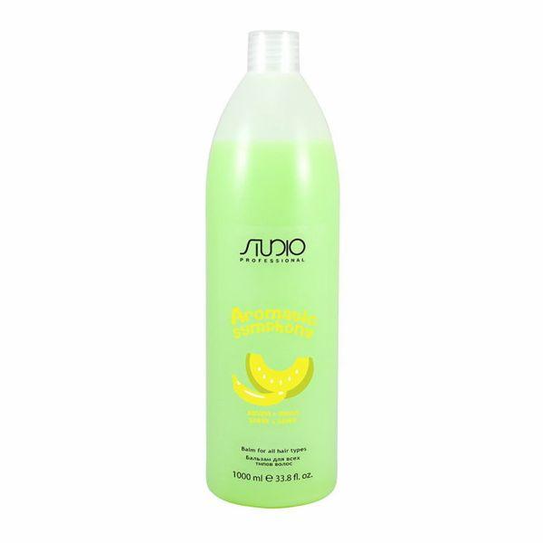 Kapous aromatic studio бальзам для всех типов волос банан и дыня 1000 мл