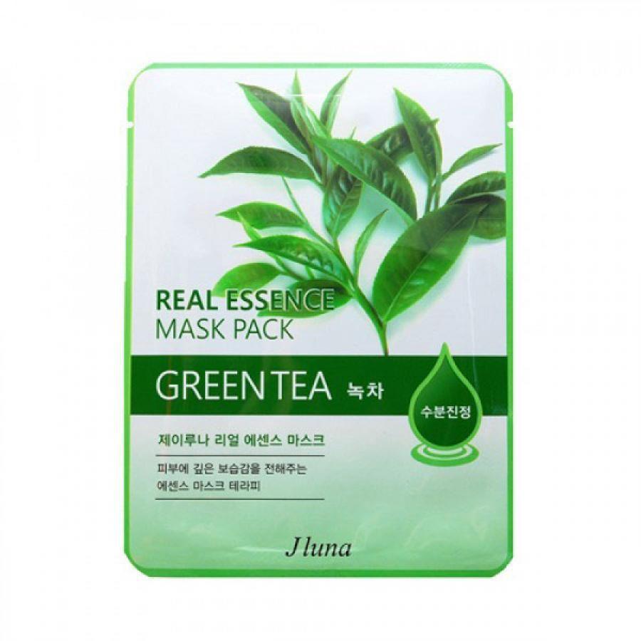 Купить JLuna Тканевая маска для лица с зеленым чаем 25мл