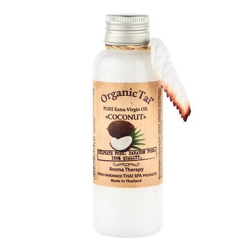 OrganicTai Масло чистое базовое холодного отжима Кокос 260мл фото