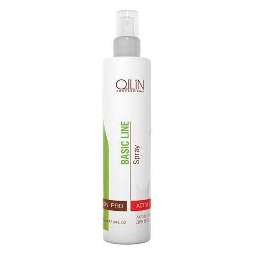 Оллин/Ollin Professional BASIC LINE Актив-спрей для волос 300мл от Лаборатория Здоровья и Красоты