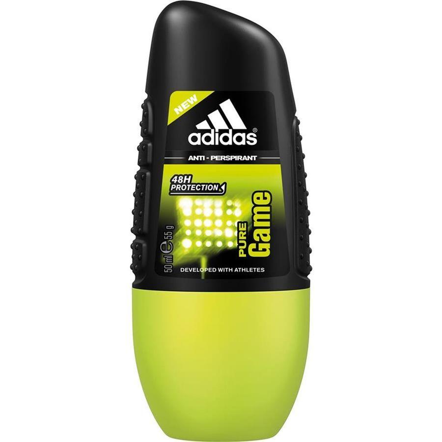 Adidas Аdidas Pure Game Anti-Perspirant Roll-On дезодорант антиперспирант ролик для мужчин 50 мл от Лаборатория Здоровья и Красоты