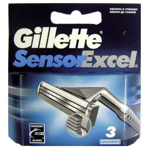 Купить Gillette Sensor Excel сменные кассеты 3 шт