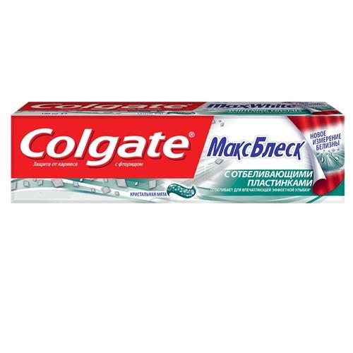 Купить Колгейт Зубная паста Макс Блеск 100мл, Colgate