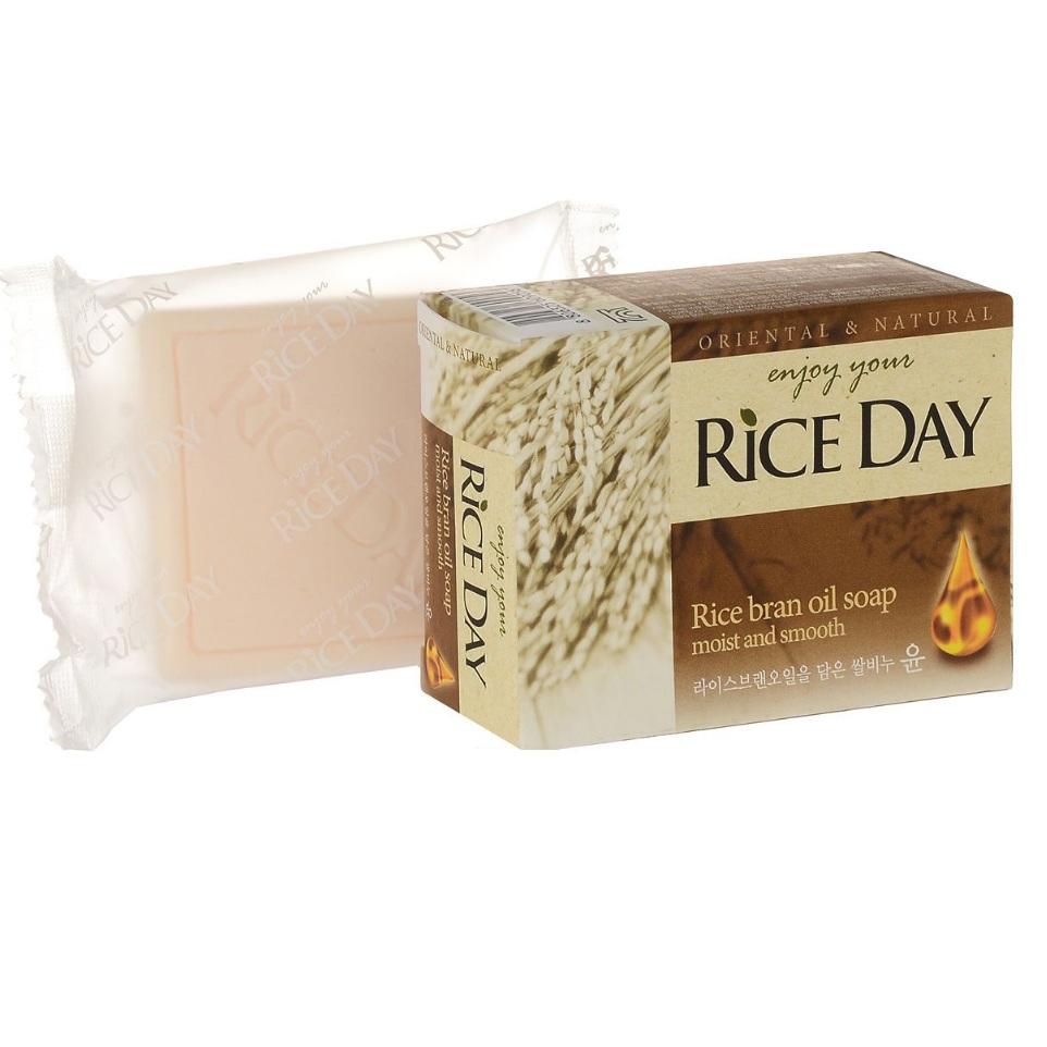 Лион мыло туалетное с экстрактом рисовых отрубей rice