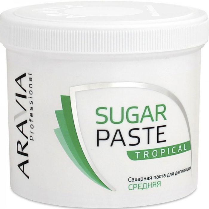 Aravia паста сахарная для депиляции тропическая средней консистенции 750г