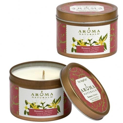 Купить Aroma Naturals Свеча Романтика 80 г банка