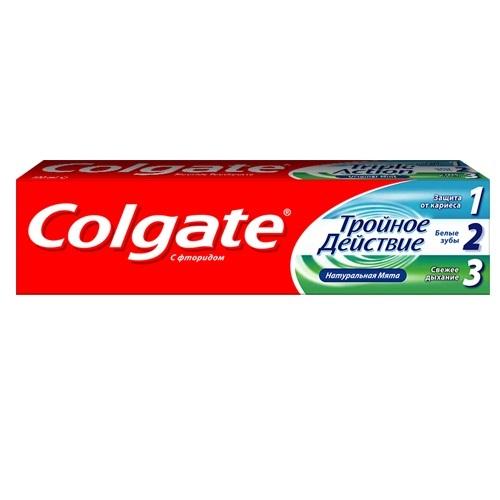Купить Колгейт Зубная паста Тройное действие 150мл, Colgate