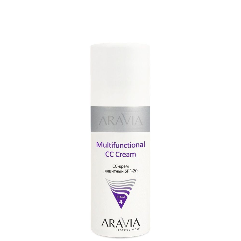 Aravia CC-крем защитный SPF-20 Multifunctional CC Cream 150мл