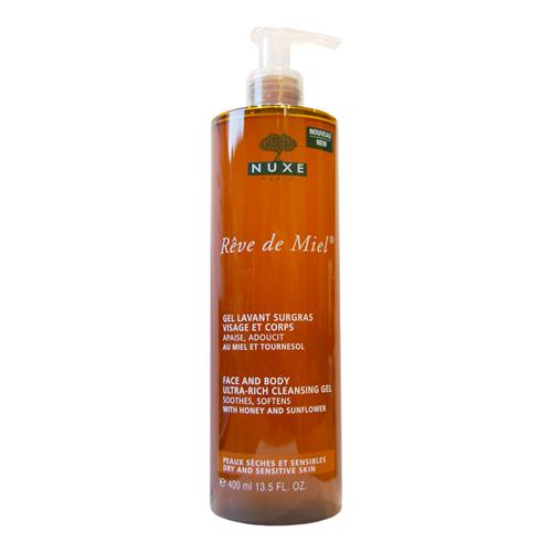 Купить со скидкой Нюкс/Nuxe Очищающий гель для лица и тела 400 мл