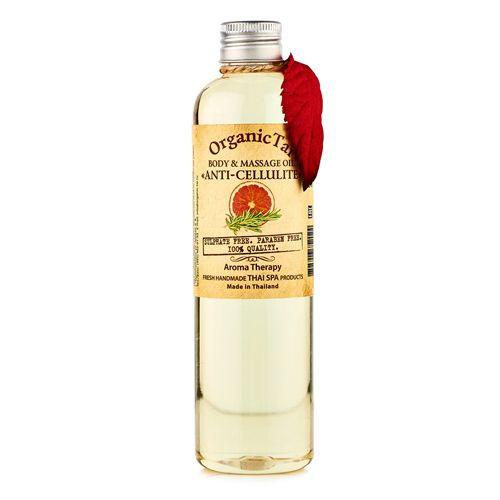 Купить OrganicTai Масло для тела и аромамассажа Антицеллюлитное 260мл