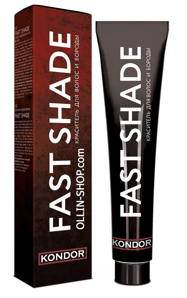 Kondor Fast Shade Краситель для волос и бороды тон 2 черный 60 мл фото