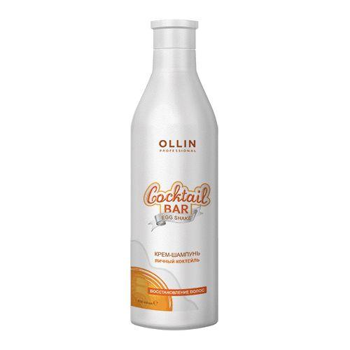 Купить Ollin Professional Cocktail BAR Крем-шампунь Яичный коктейль Восстановление волос 500мл