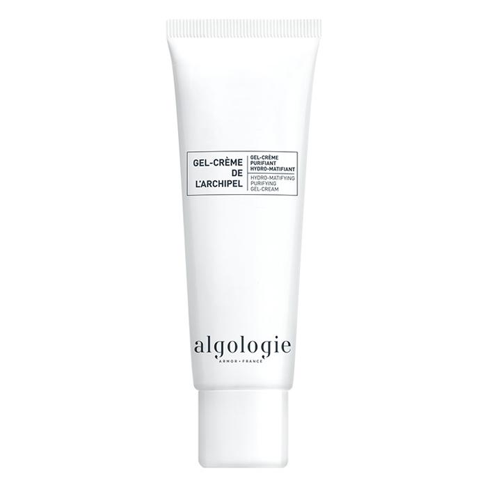 Купить Algologie Увлажняющий матирующий гель-крем для жирной и смешанной кожи 50мл