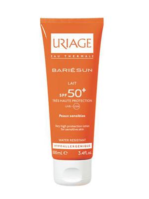 Купить Uriage (Урьяж) Барьесан SPF50+ Ультралегкое солнцезащитное молочко для тела 100 мл
