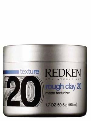 Купить Редкен Раф Клэй 20 Пластичная текстурирующая глина с матовым эффектом Rough Clay 50 мл, Redken
