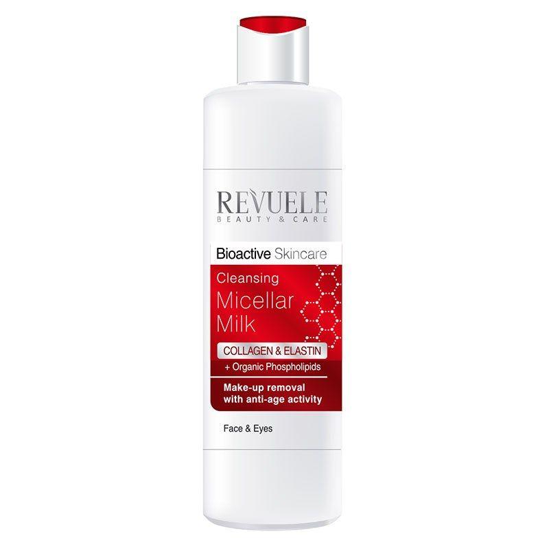 Купить Revuele Bioactive skincare Collagen&Elastin Мицеллярное молочко для демакияжа 200мл