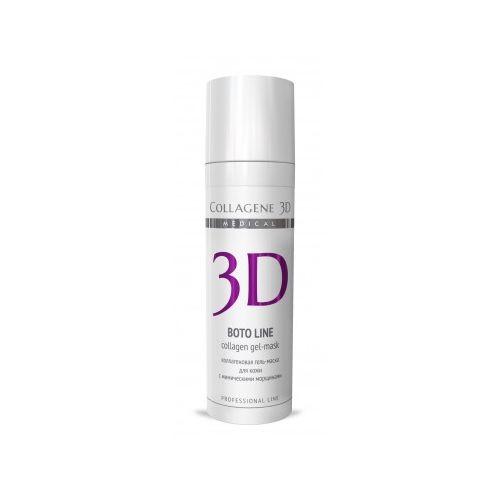 Купить Коллаген 3Д BOTO LINE Гель-маска для лица с Syn®-ake комплексом для коррекции мимических морщин 30 мл, Collagene 3D