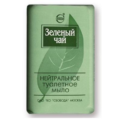 Купить Мыло Зеленый чай нейтральное в обертке 100г Свобода