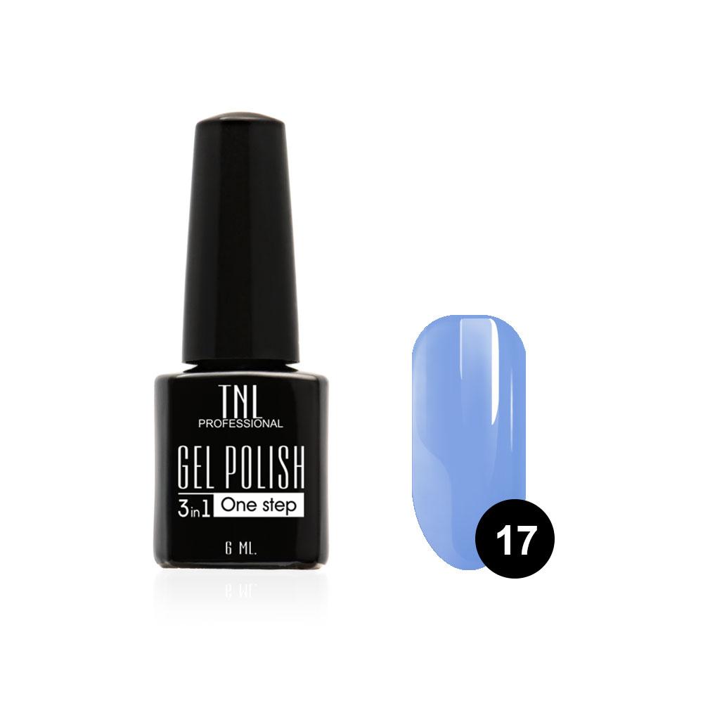Tnl гель-лак 3 в 1 №17 - васильковый