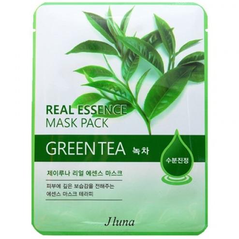 Купить Juno Тканевая маска с зеленым чаем 25 мл