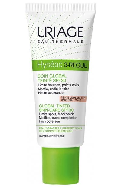 Урьяж (Uriage) Hyseac 3-Regul Универсальный тональный уход SPF30 40мл