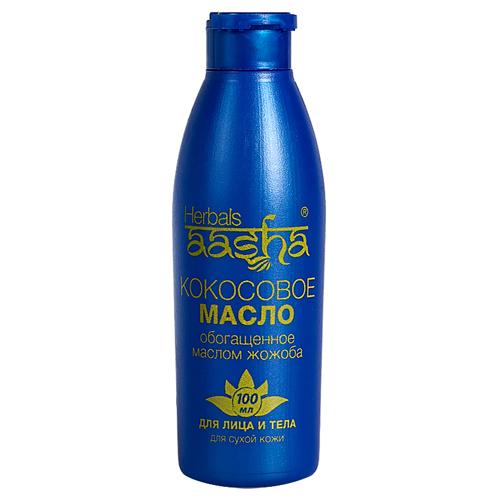 Aasha масло кокосовое для лица и
