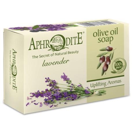 Купить Aphrodite Мыло оливковое с ароматом лаванды 100 г