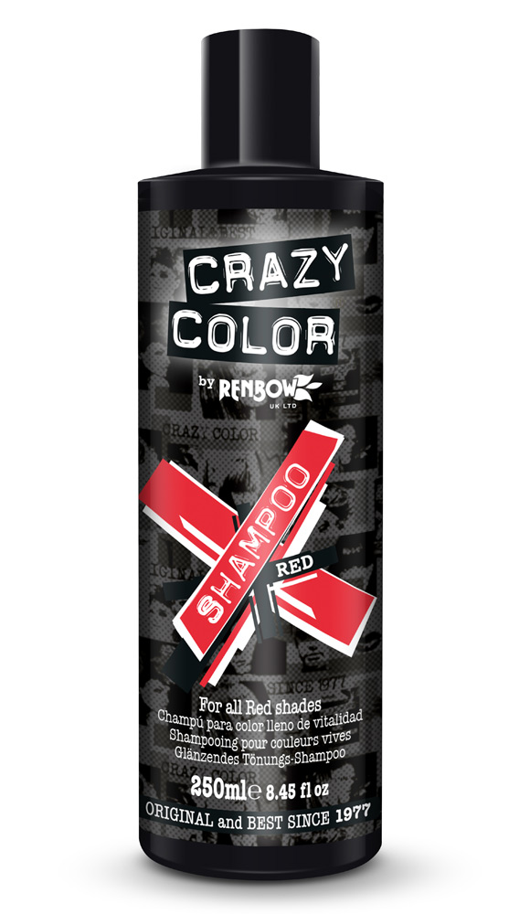 Crazy color vibrant color shampoo - red /