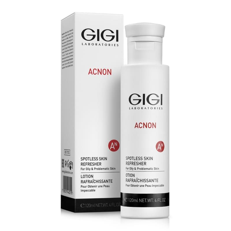 Купить GIGI Acnon Spotless skin refresher Эссенция-тоник противовосполительный поросуживующий 120мл