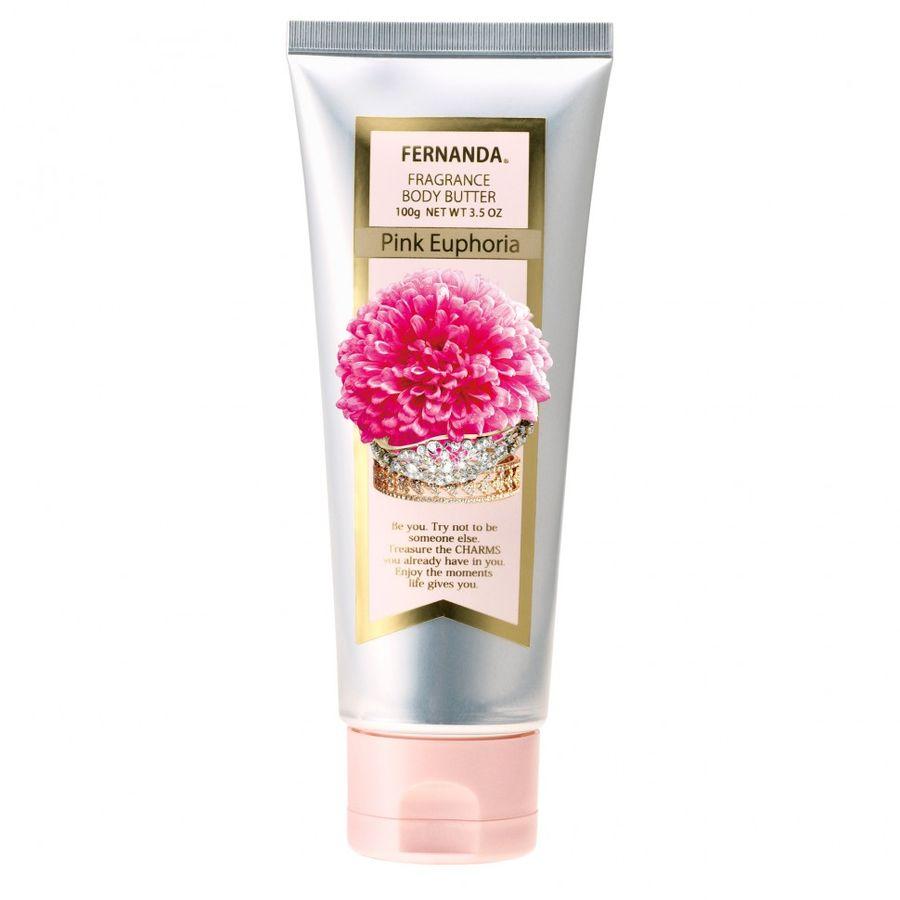 FERNANDA Крем-масло парфюмированное для тела Розовая эйфория 100мл