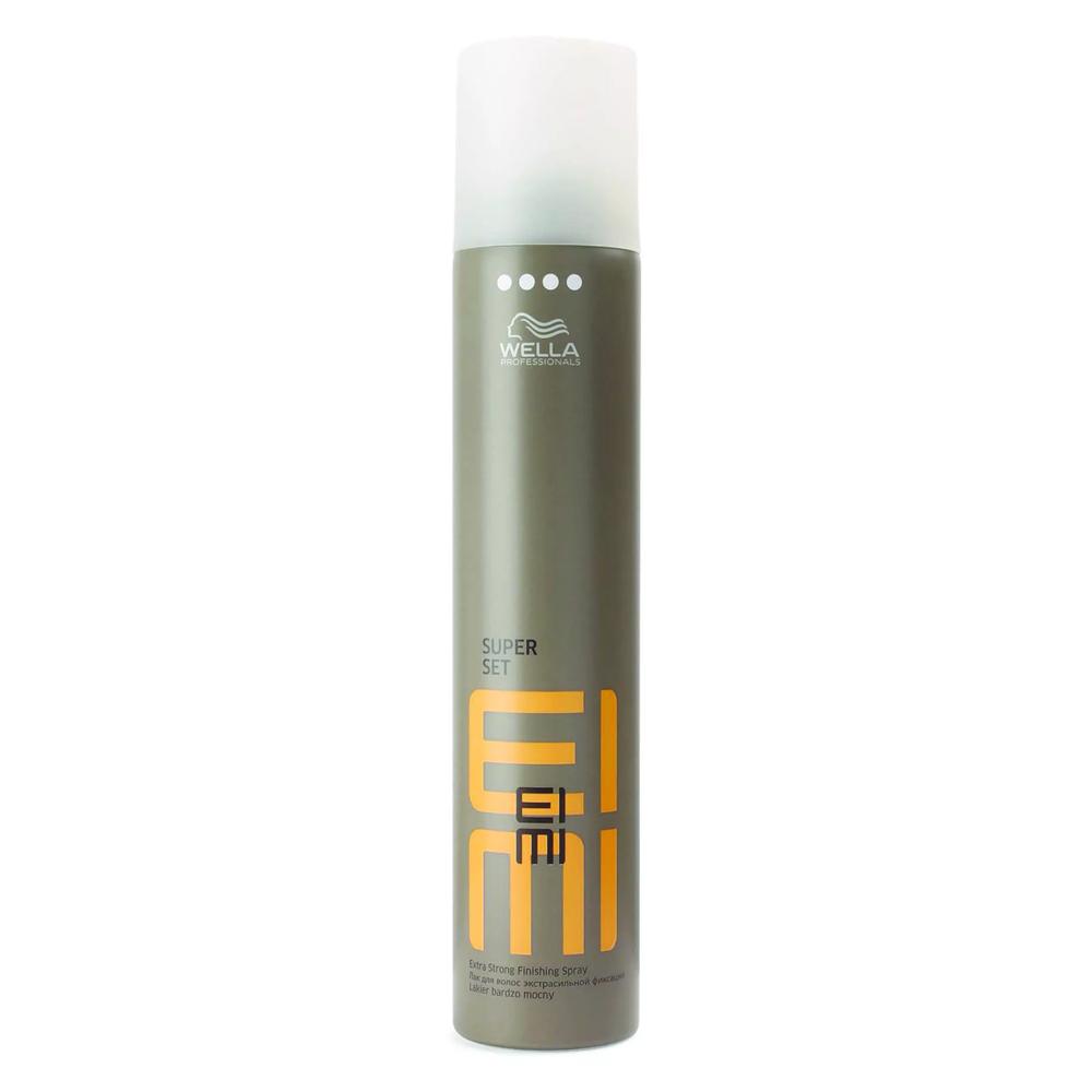 Купить Wella EIMI Fixing Лак для волос экстрасильной фиксации SUPER SET 300мл