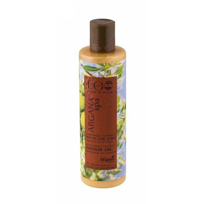 Купить Эколаб SPA Argana Масло для душа пенящееся увлажняющее Гладкость и упругость кожи 250 мл, Ecolab
