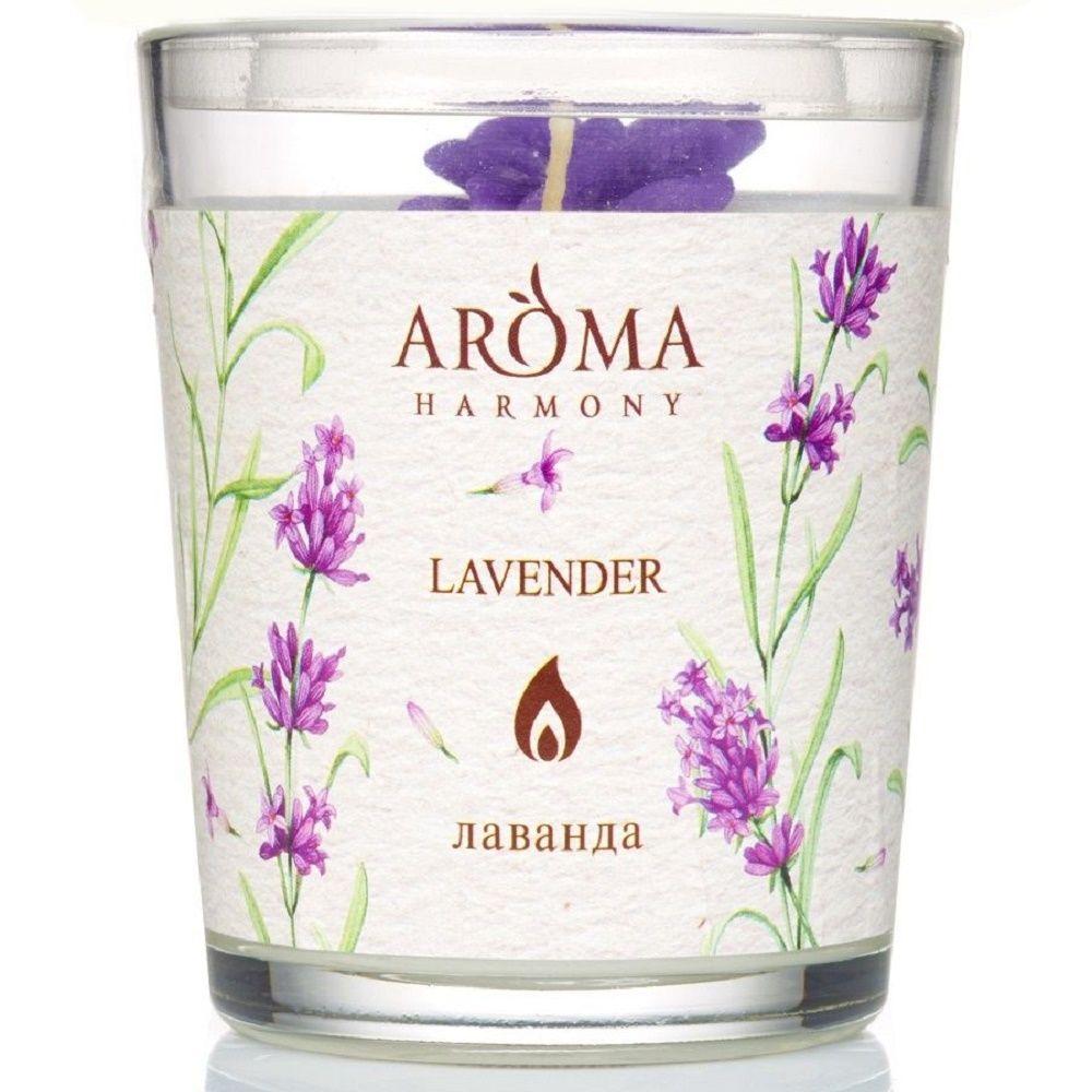 Aroma Harmony Свеча ароматическая Лаванда 160гр фото