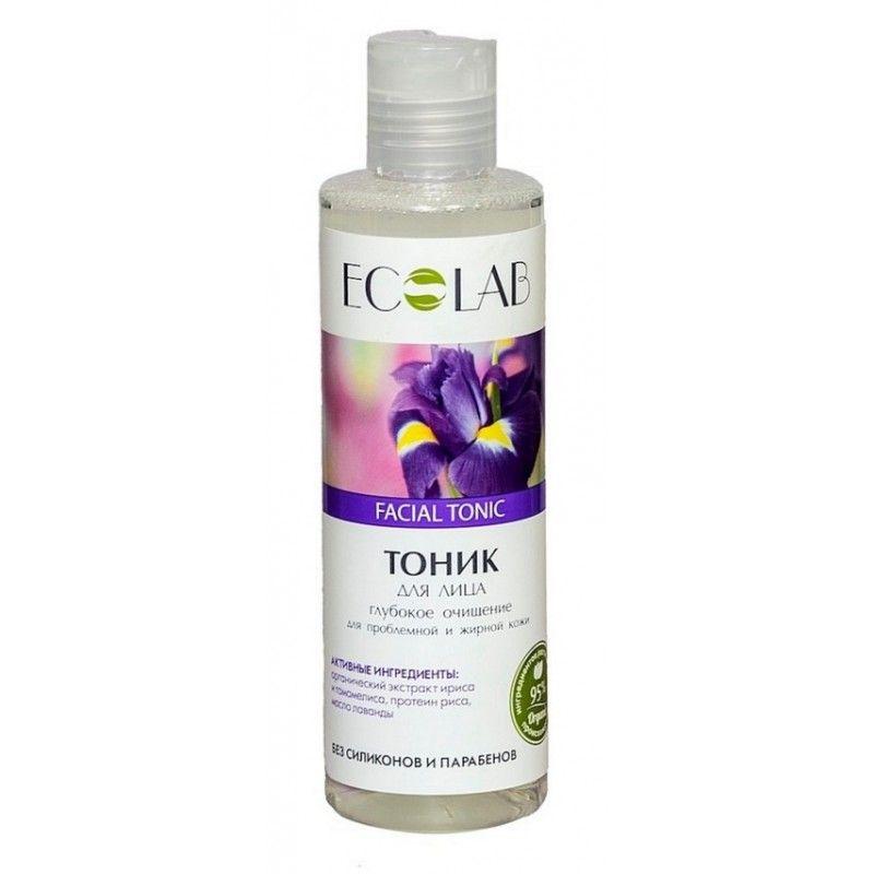 Эколаб Тоник для проблемной и жирной кожи Глубокое очищение 200 мл