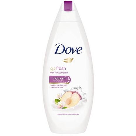 Купить Dove Крем-гель для душа Слива и цветы сакуры 250 мл