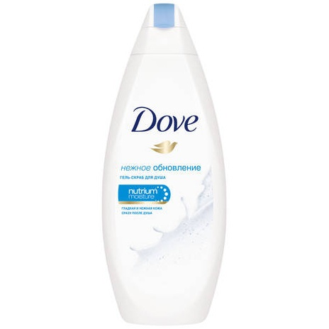 Купить Dove Гель-скраб для душа Нежное обновление 250мл
