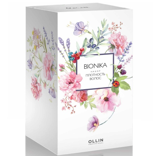 Купить Ollin BioNika Плотность волос набор: шампунь 250мл+маска 200мл+энергетическая сыворотка 10*15мл, Ollin Professional